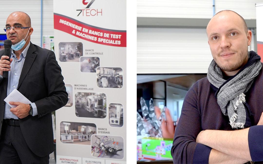 7Tech et Agarta allient leurs technologies au service des masques Fabriqués en France