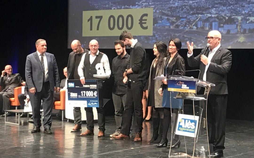 Artefakt Vision remporte le 2ème prix du numérique du concours Audace 2019